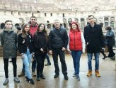 Romanian team in Rome